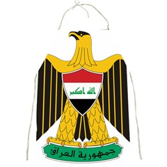 Coat Of Arms Of Iraq  Full Print Aprons by abbeyz71