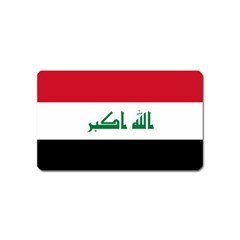 Flag Of Iraq Magnet (name Card) by abbeyz71