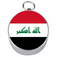 Flag Of Iraq  Silver Compasses by abbeyz71