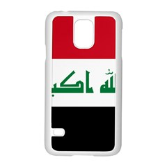 Flag Of Iraq  Samsung Galaxy S5 Case (white) by abbeyz71