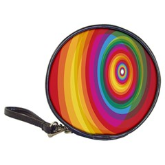 Circle Rainbow Color Hole Rasta Classic 20 Cd Wallets by Mariart