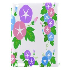 Flower Floral Star Purple Pink Blue Leaf Apple Ipad 3/4 Hardshell Case (compatible With Smart Cover) by Mariart