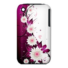 Flower Purple Sunflower Star Butterfly Iphone 3s/3gs by Mariart
