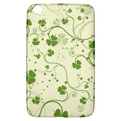 Flower Green Shamrock Samsung Galaxy Tab 3 (8 ) T3100 Hardshell Case  by Mariart