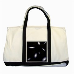 Galaxy Planet Space Star Light Polka Night Two Tone Tote Bag by Mariart