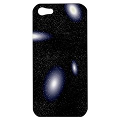 Galaxy Planet Space Star Light Polka Night Apple Iphone 5 Hardshell Case by Mariart