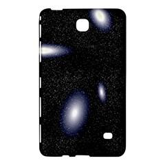 Galaxy Planet Space Star Light Polka Night Samsung Galaxy Tab 4 (8 ) Hardshell Case  by Mariart
