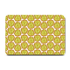Horned Melon Green Fruit Small Doormat  by Mariart