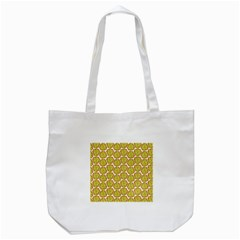 Horned Melon Green Fruit Tote Bag (white) by Mariart