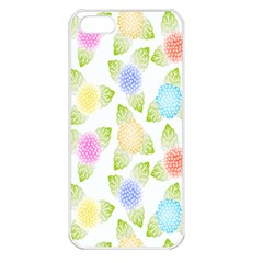 Fruit Grapes Purple Yellow Blue Pink Rainbow Leaf Green Apple Iphone 5 Seamless Case (white) by Mariart