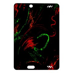 Paint Black Red Green Amazon Kindle Fire Hd (2013) Hardshell Case by Mariart
