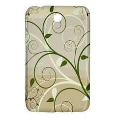 Leaf Sexy Green Gray Samsung Galaxy Tab 3 (7 ) P3200 Hardshell Case  by Mariart