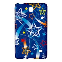 Line Star Space Blue Sky Light Rainbow Red Orange White Yellow Samsung Galaxy Tab 4 (8 ) Hardshell Case  by Mariart