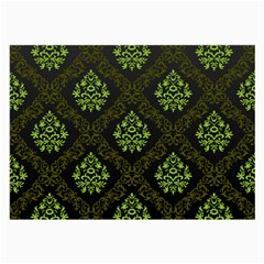 Leaf Green Large Glasses Cloth by Mariart