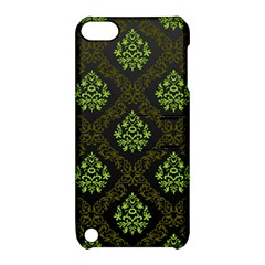Leaf Green Apple Ipod Touch 5 Hardshell Case With Stand by Mariart