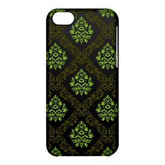 Leaf Green Apple Iphone 5c Hardshell Case by Mariart