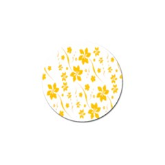 Shamrock Yellow Star Flower Floral Star Golf Ball Marker (10 Pack) by Mariart