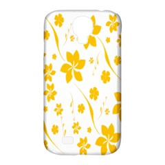 Shamrock Yellow Star Flower Floral Star Samsung Galaxy S4 Classic Hardshell Case (pc+silicone) by Mariart