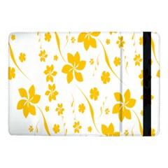 Shamrock Yellow Star Flower Floral Star Samsung Galaxy Tab Pro 10 1  Flip Case by Mariart
