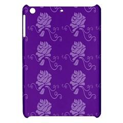 Purple Flower Rose Sunflower Apple Ipad Mini Hardshell Case by Mariart