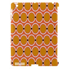 Orange Circle Polka Apple Ipad 3/4 Hardshell Case (compatible With Smart Cover) by Mariart