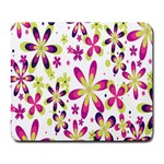 Star Flower Purple Pink Large Mousepads