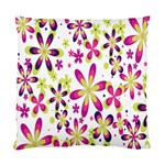 Star Flower Purple Pink Standard Cushion Case (Two Sides)