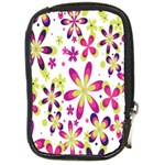 Star Flower Purple Pink Compact Camera Cases