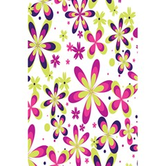Star Flower Purple Pink 5 5  X 8 5  Notebooks by Mariart