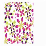 Star Flower Purple Pink Large Garden Flag (Two Sides)