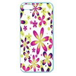 Star Flower Purple Pink Apple Seamless iPhone 5 Case (Color)