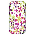 Star Flower Purple Pink Samsung Galaxy S3 S III Classic Hardshell Back Case
