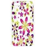 Star Flower Purple Pink Apple iPhone 5 Hardshell Case with Stand