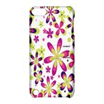 Star Flower Purple Pink Apple iPod Touch 5 Hardshell Case with Stand