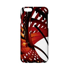 Webbing Red Apple Iphone 6/6s Hardshell Case by Mariart