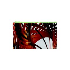 Webbing Red Cosmetic Bag (xs) by Mariart