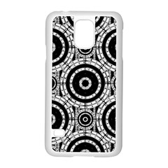 Geometric Black And White Samsung Galaxy S5 Case (white) by linceazul