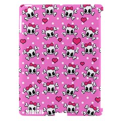 Cute Skulls  Apple Ipad 3/4 Hardshell Case (compatible With Smart Cover) by Valentinaart
