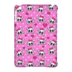 Cute Skulls  Apple Ipad Mini Hardshell Case (compatible With Smart Cover) by Valentinaart