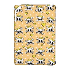 Cute Skull Apple Ipad Mini Hardshell Case (compatible With Smart Cover) by Valentinaart