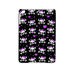 Cute Skull Ipad Mini 2 Hardshell Cases by Valentinaart