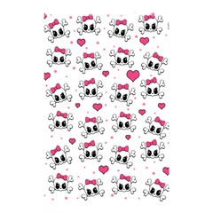 Cute Skull Shower Curtain 48  X 72  (small)  by Valentinaart