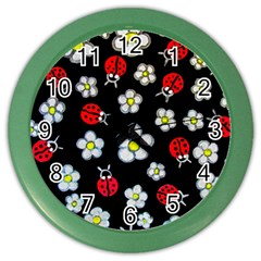 Sixties Flashback Color Wall Clocks by dawnsiegler
