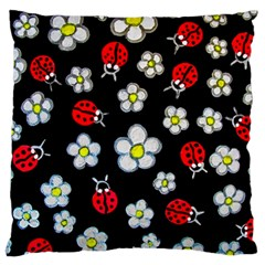 Sixties Flashback Large Cushion Case (two Sides) by dawnsiegler