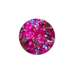 Pretty In Fuchsia 2 Golf Ball Marker (4 Pack) by dawnsiegler