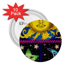 Celestial Skies 2 25  Buttons (10 Pack)  by dawnsiegler