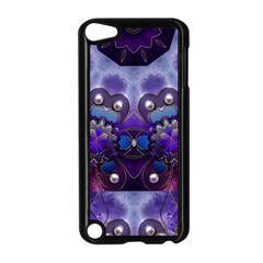 Pearls On Lavender Apple Ipod Touch 5 Case (black) by KirstenStar