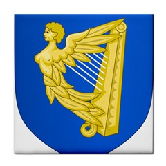 Coat Of Arms Of Ireland, 17th Century To The Foundation Of Irish Free State Face Towel by abbeyz71