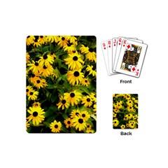 Walking Through Sunshine Playing Cards (mini)  by dawnsiegler