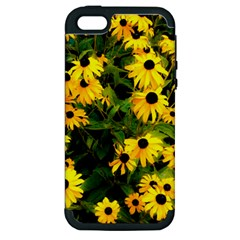 Walking Through Sunshine Apple Iphone 5 Hardshell Case (pc+silicone) by dawnsiegler